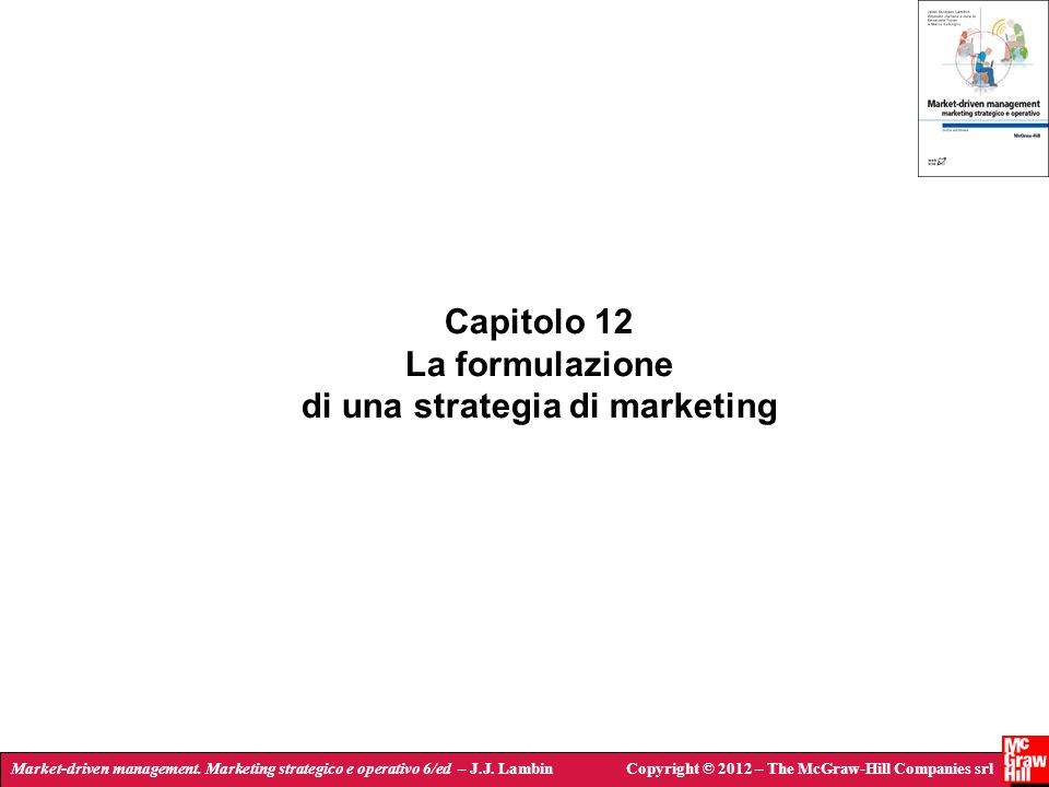 di una strategia di marketing
