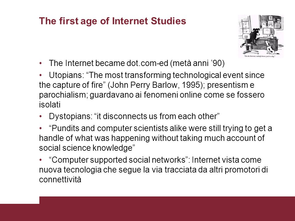 The first age of Internet Studies