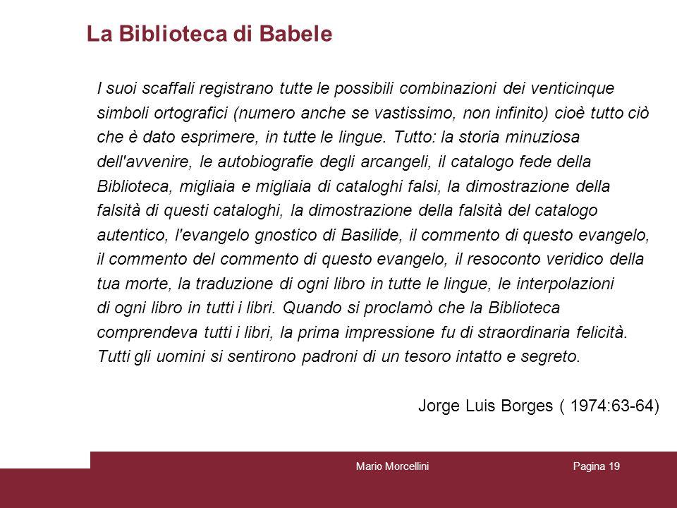 La Biblioteca di Babele