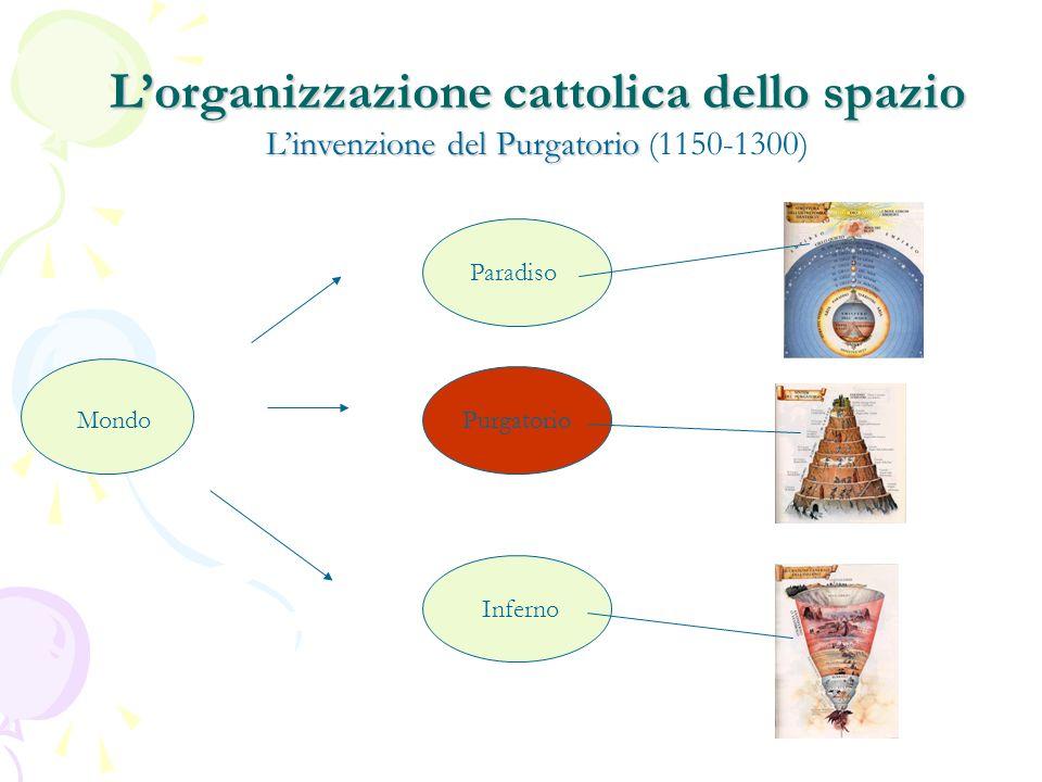 L'organizzazione cattolica dello spazio L'invenzione del Purgatorio (1150-1300)