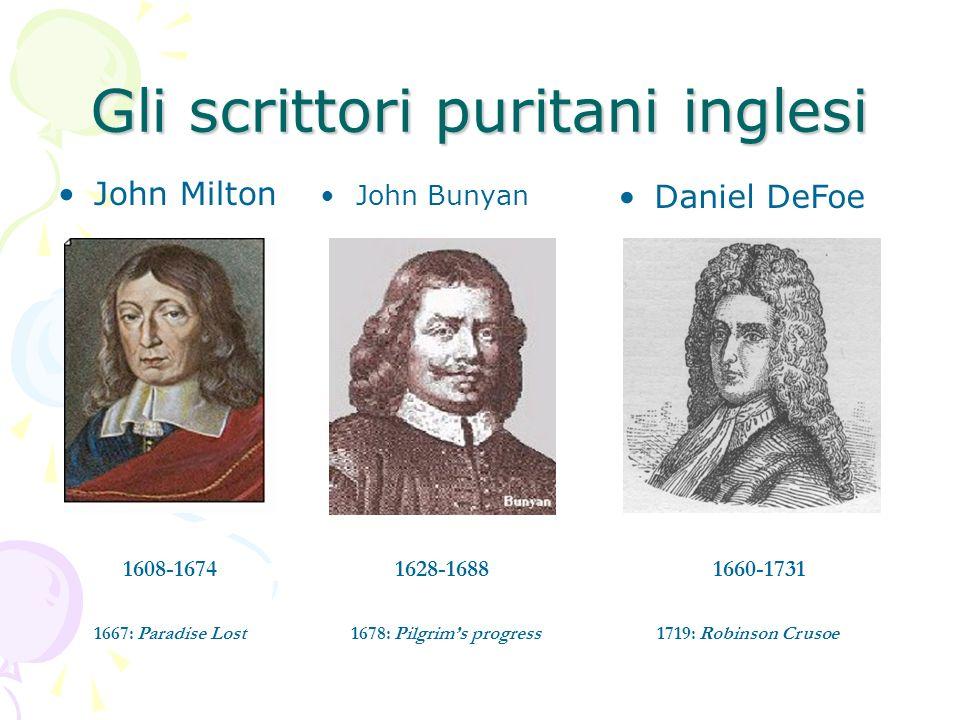 Gli scrittori puritani inglesi