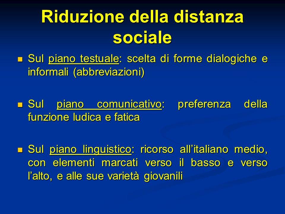 Riduzione della distanza sociale