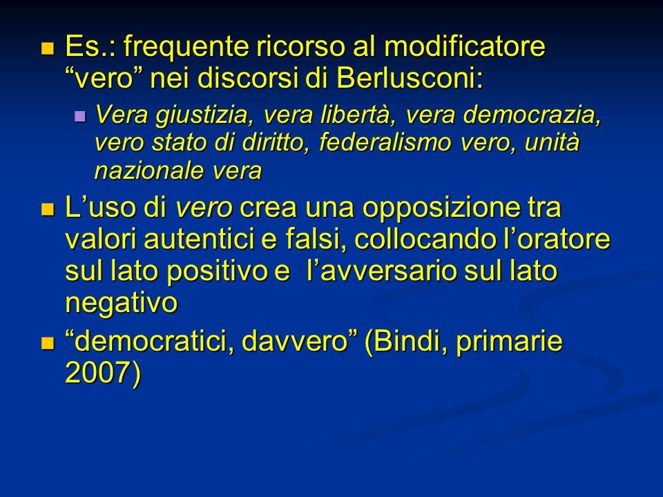 democratici, davvero (Bindi, primarie 2007)