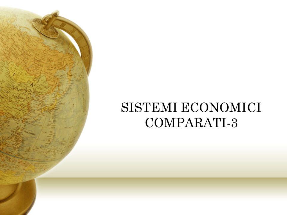 SISTEMI ECONOMICI COMPARATI-3