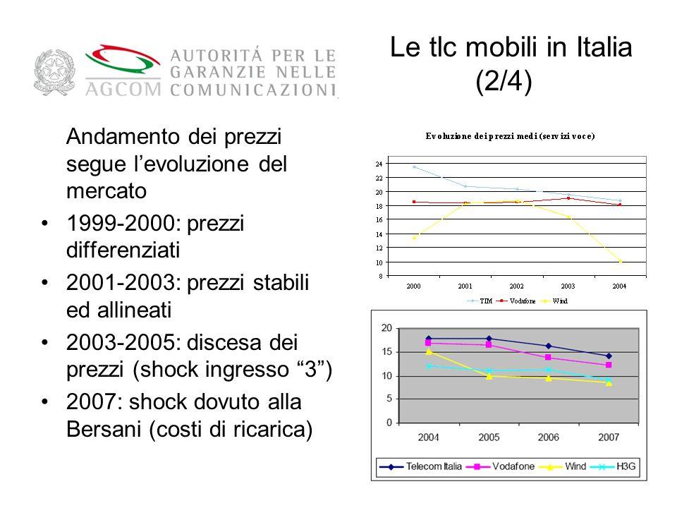 Le tlc mobili in Italia (2/4)