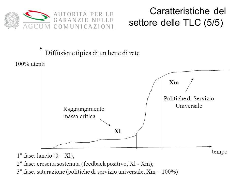 Caratteristiche del settore delle TLC (5/5)
