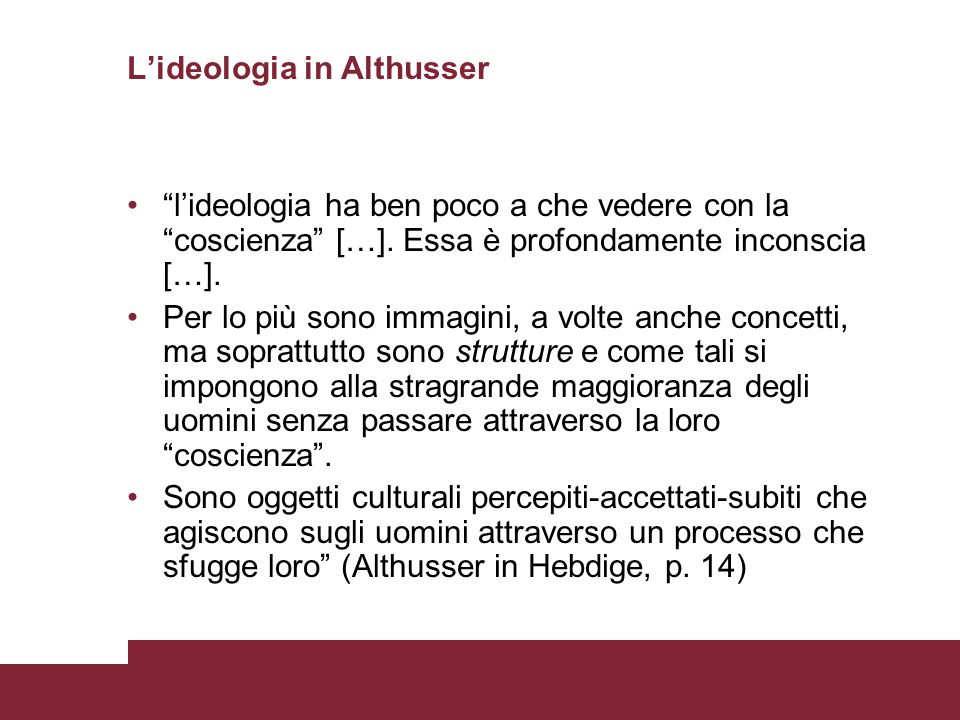 L'ideologia in Althusser