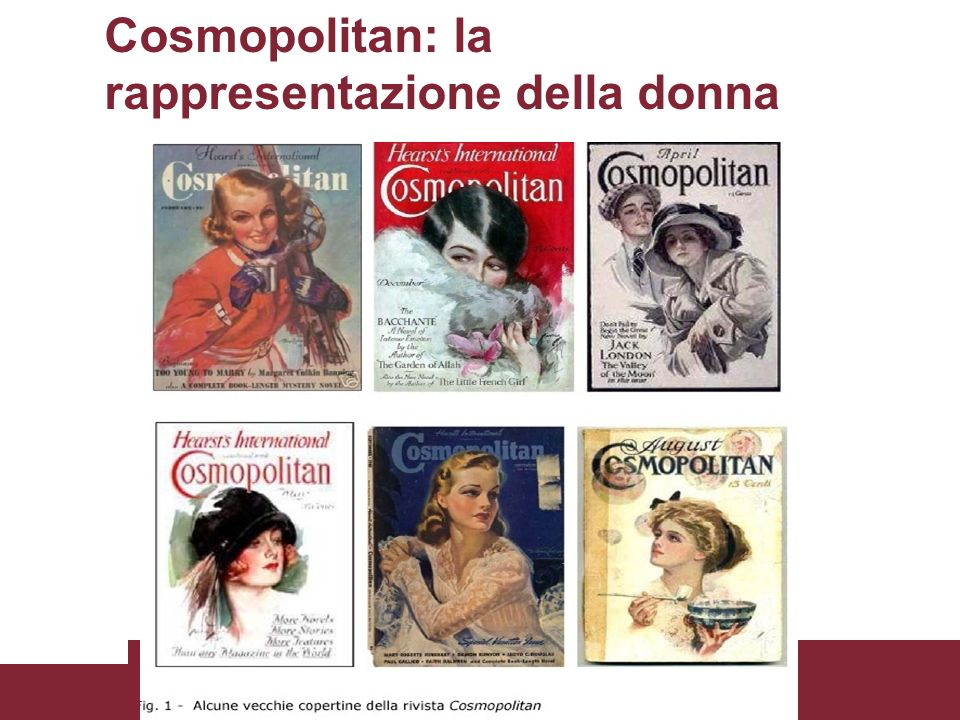 Cosmopolitan: la rappresentazione della donna