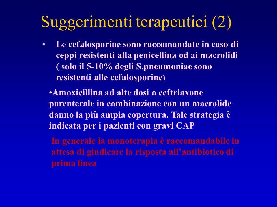 Suggerimenti terapeutici (2)