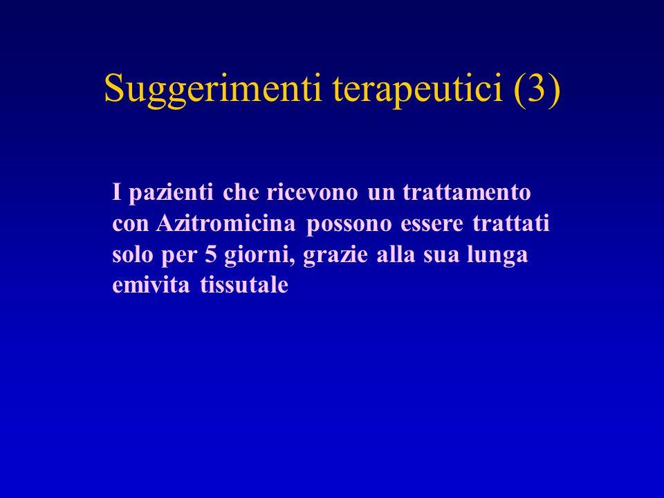 Suggerimenti terapeutici (3)