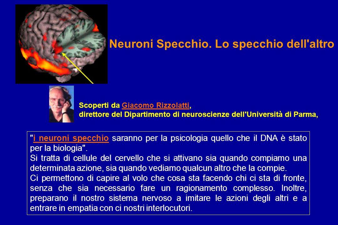 Neuroni Specchio. Lo specchio dell altro
