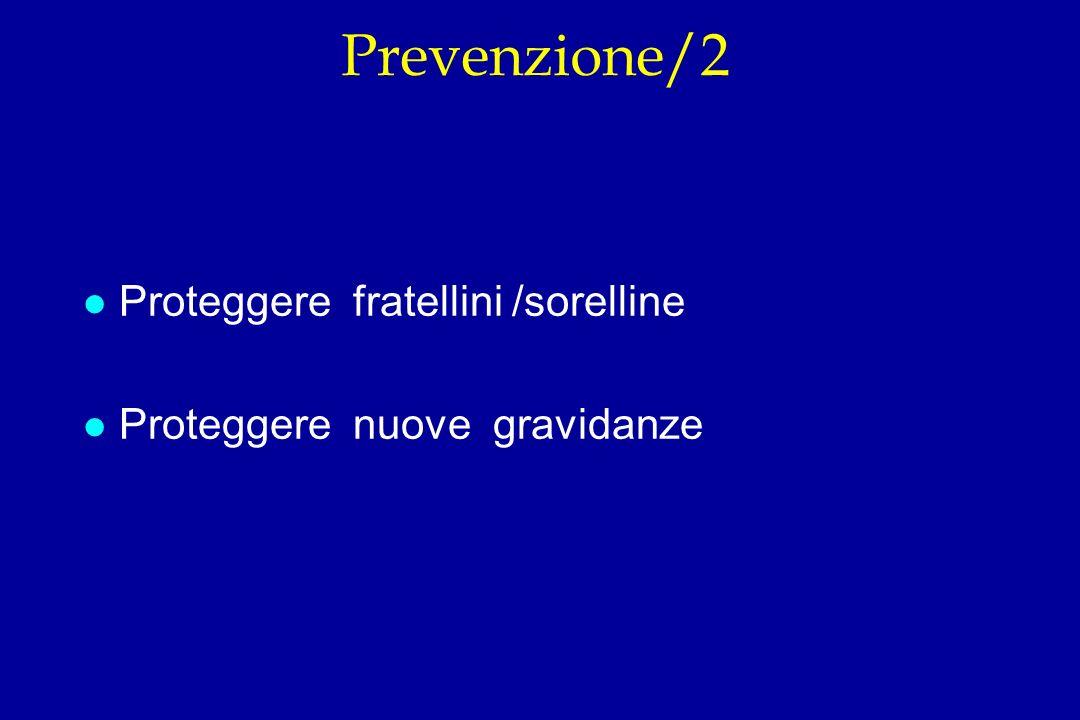 Prevenzione/2 Proteggere fratellini /sorelline