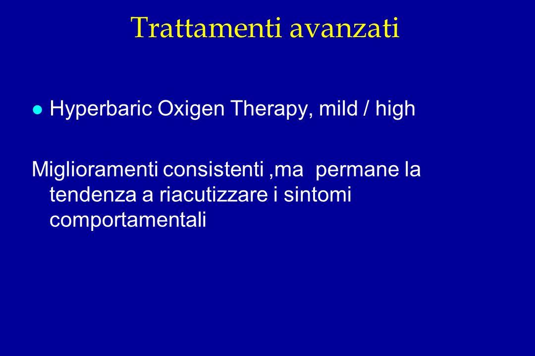 Trattamenti avanzati Hyperbaric Oxigen Therapy, mild / high