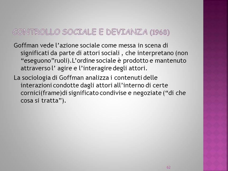 Controllo sociale e devianza (1968)
