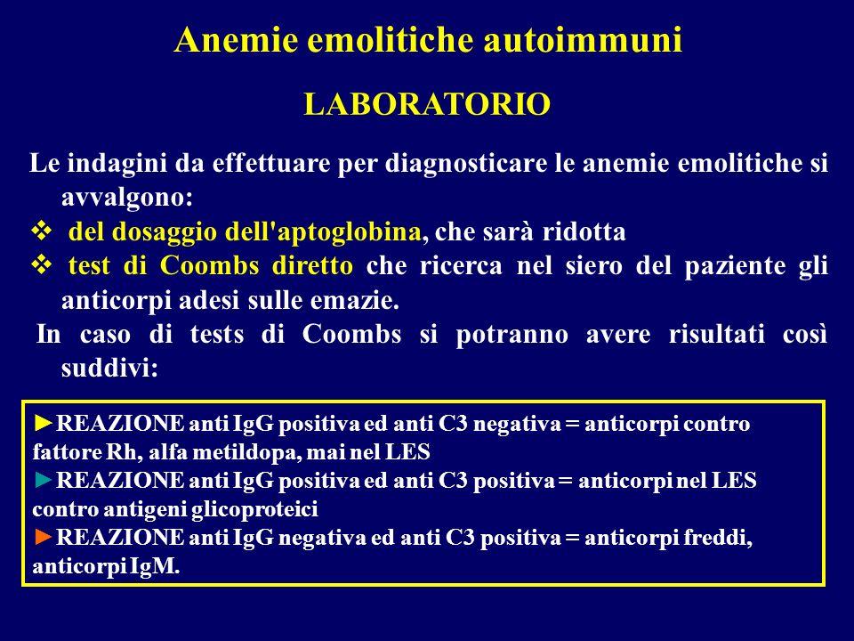 Anemie emolitiche autoimmuni