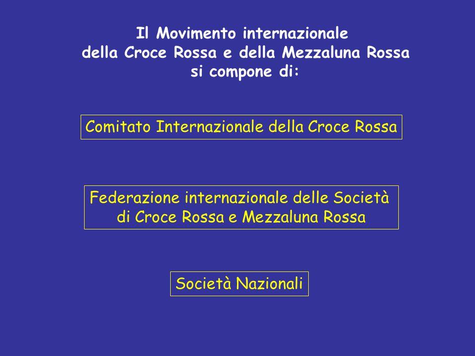 Il Movimento internazionale della Croce Rossa e della Mezzaluna Rossa