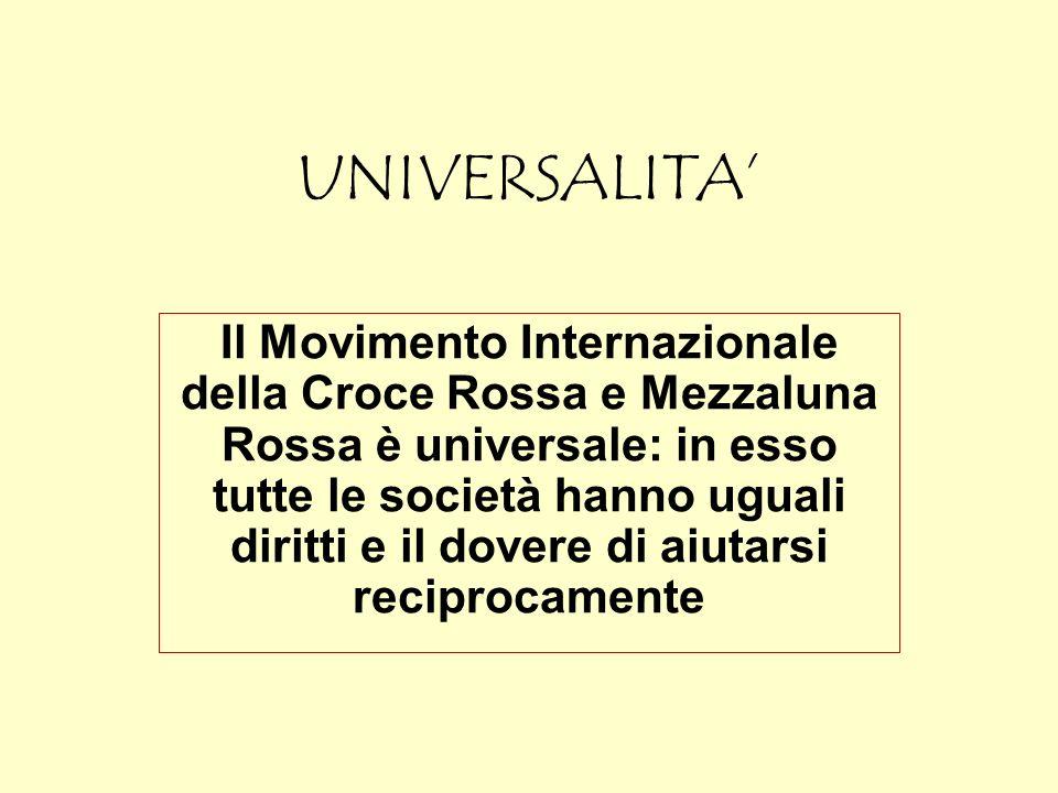 UNIVERSALITA'