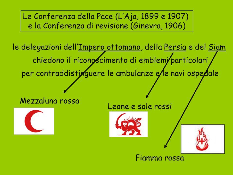 Le Conferenza della Pace (L'Aja, 1899 e 1907)