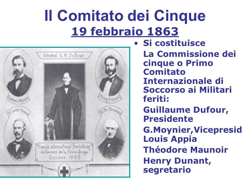 Il Comitato dei Cinque 19 febbraio 1863