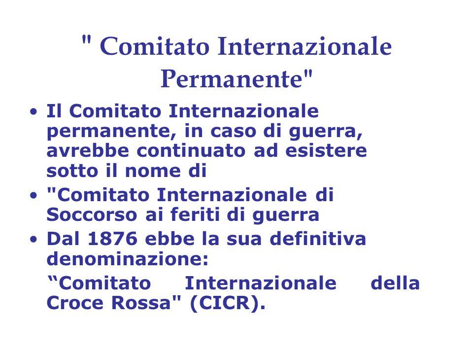 Comitato Internazionale Permanente