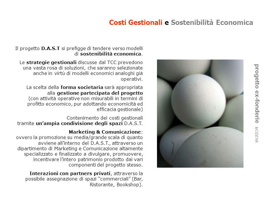 Costi Gestionali e Sostenibilità Economica