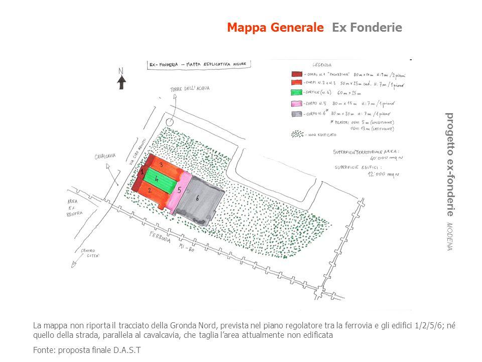 Mappa Generale Ex Fonderie