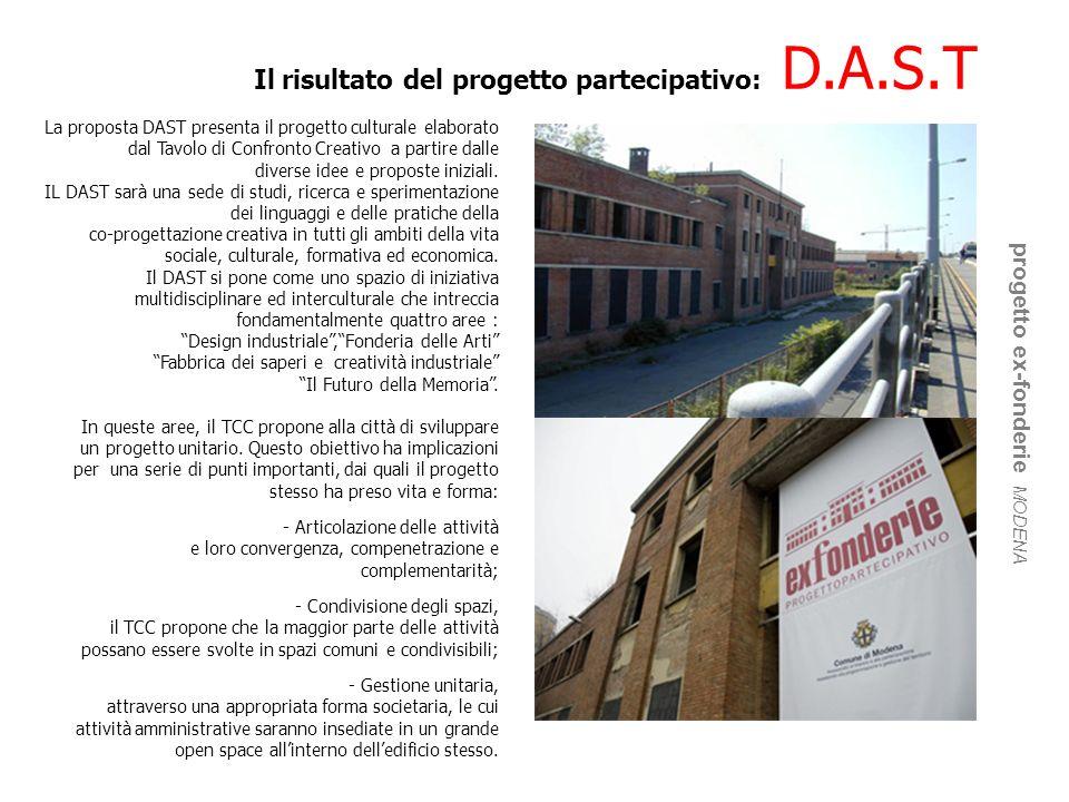 Il risultato del progetto partecipativo: D.A.S.T