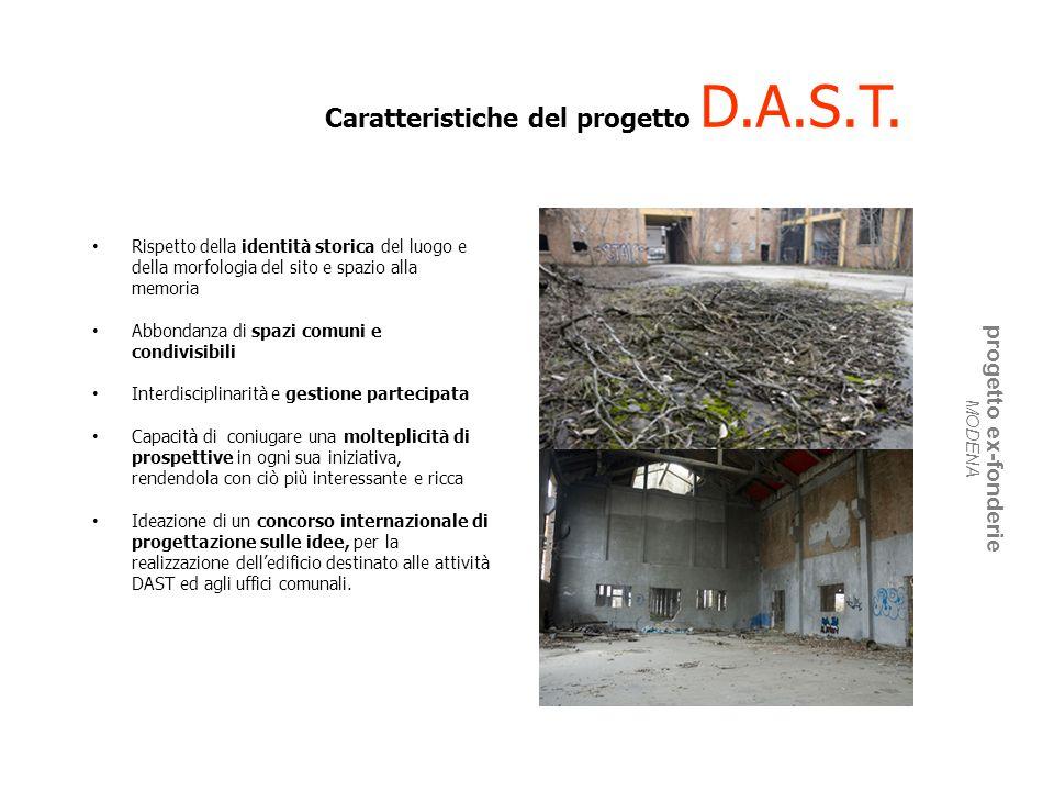 Caratteristiche del progetto D.A.S.T.