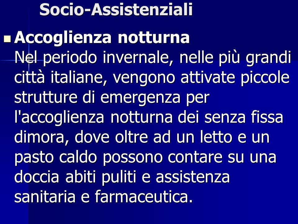 Socio-Assistenziali