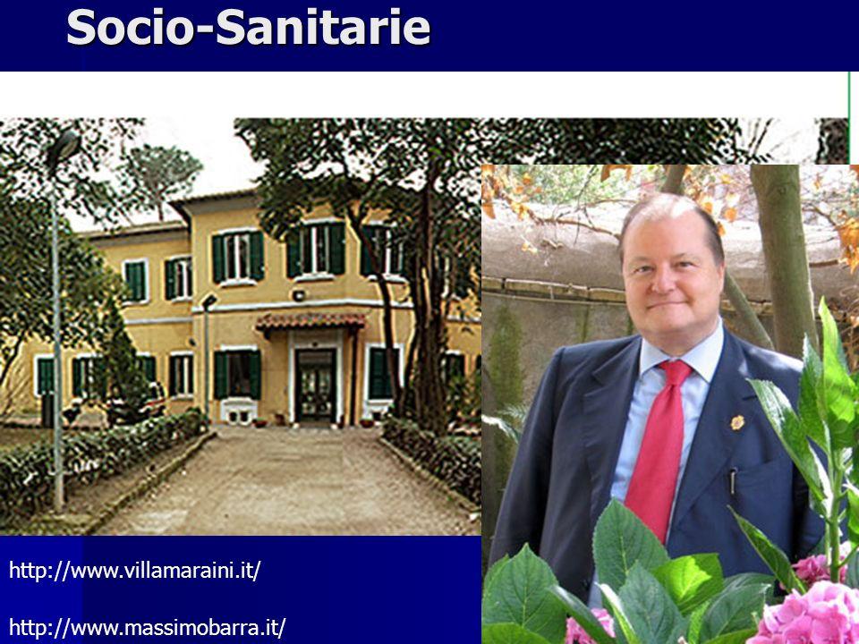 Socio-Sanitarie VILLA MARAINI http://www.villamaraini.it/