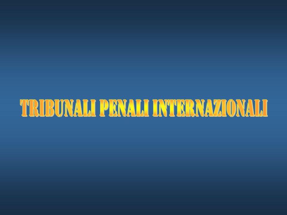 Tribunali penali internazionali