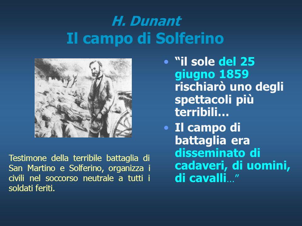 H. Dunant Il campo di Solferino
