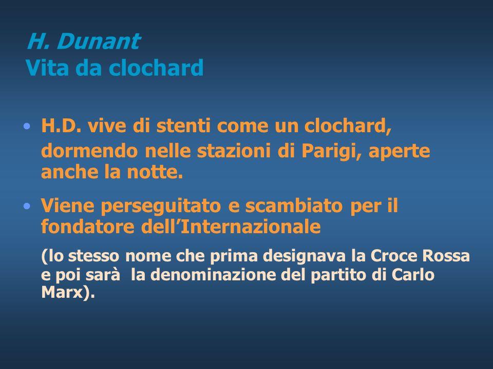 H. Dunant Vita da clochard