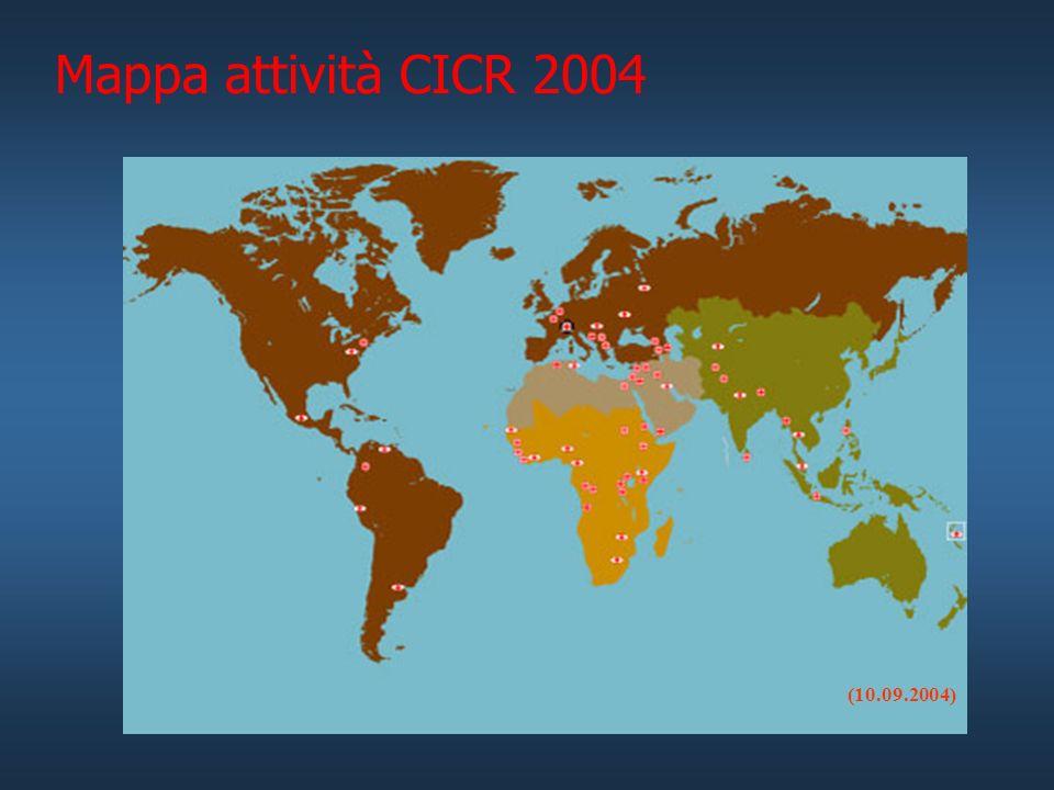 Mappa attività CICR 2004 (10.09.2004)
