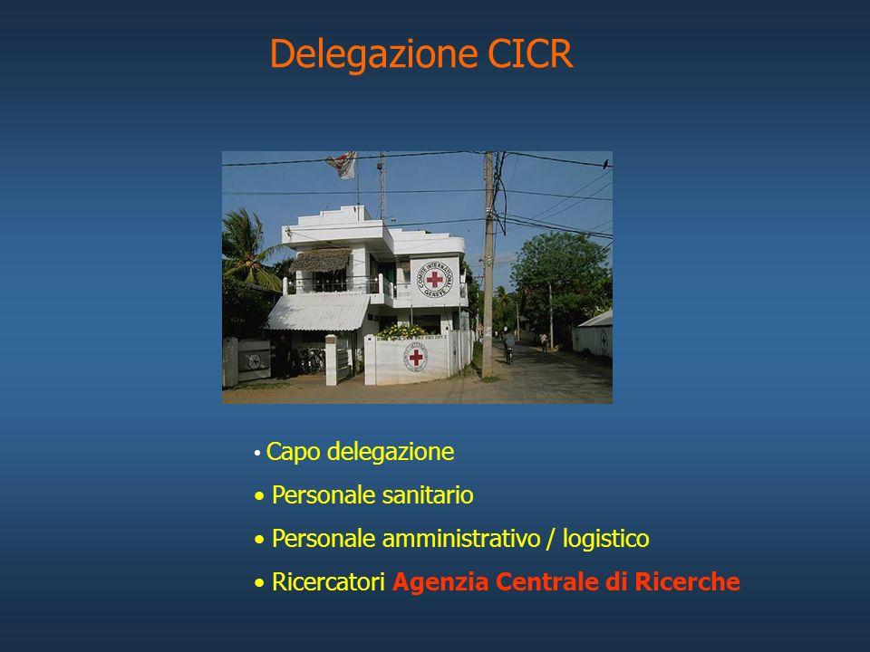 Delegazione CICR Personale sanitario