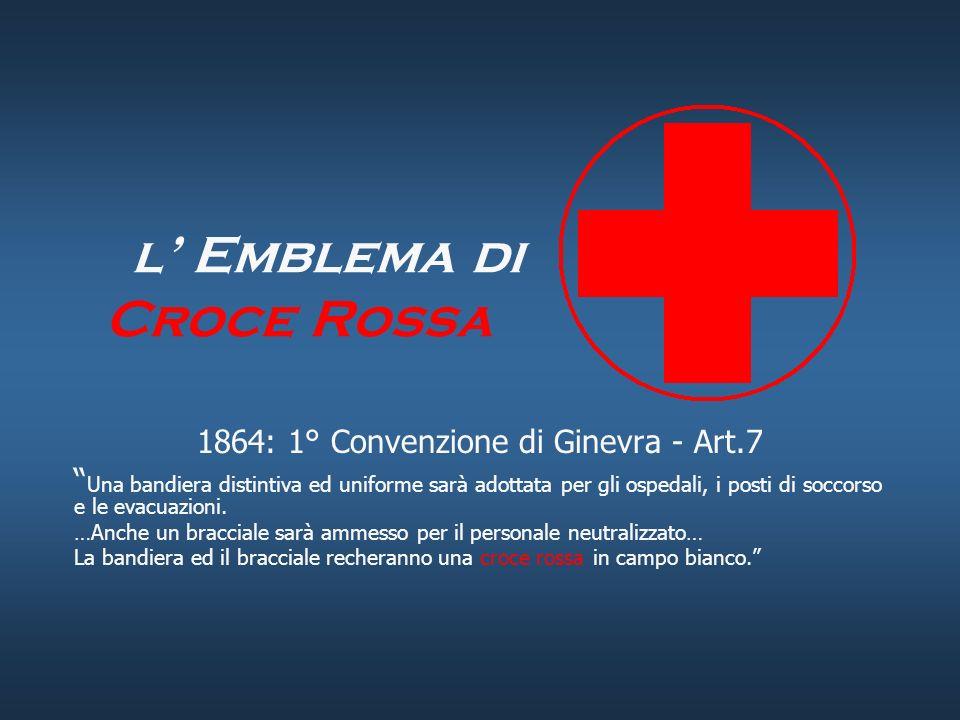 l' Emblema di Croce Rossa