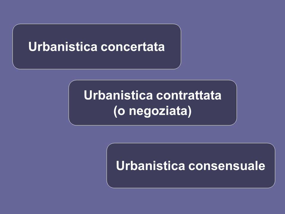 Urbanistica concertata