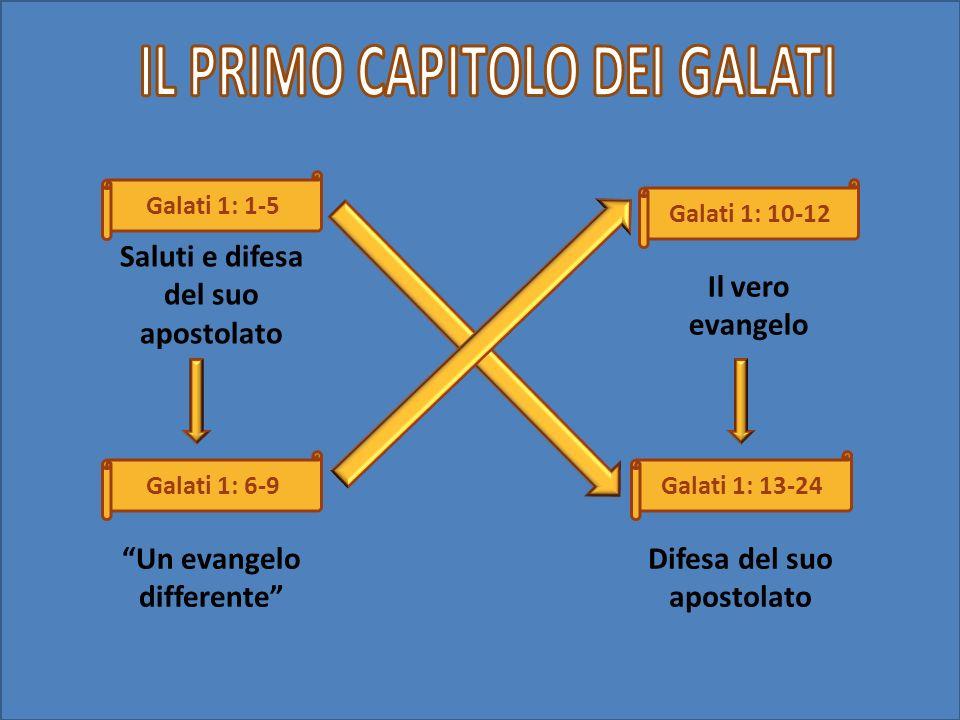 IL PRIMO CAPITOLO DEI GALATI
