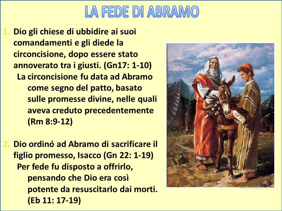LA FEDE DI ABRAMO