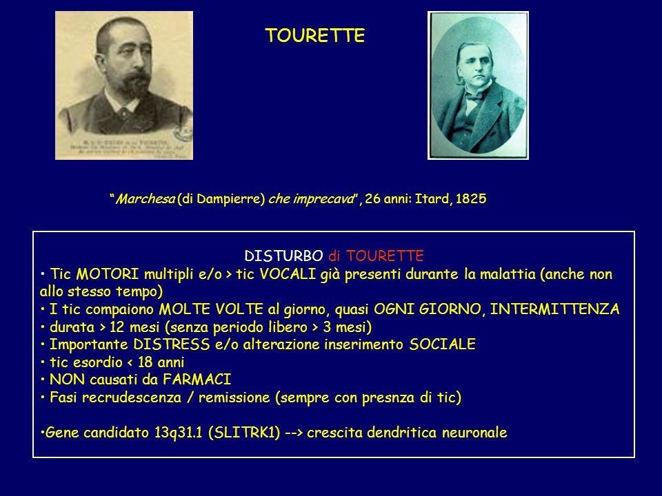Marchesa (di Dampierre) che imprecava , 26 anni: Itard, 1825