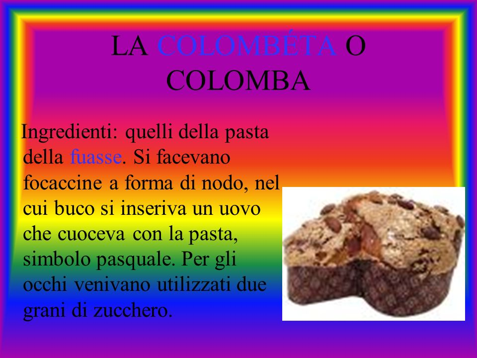 LA COLOMBÉTA O COLOMBA