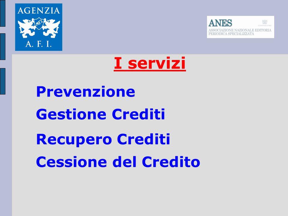I servizi Prevenzione Gestione Crediti Recupero Crediti