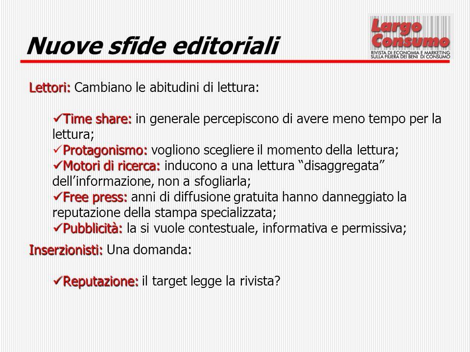 Nuove sfide editoriali