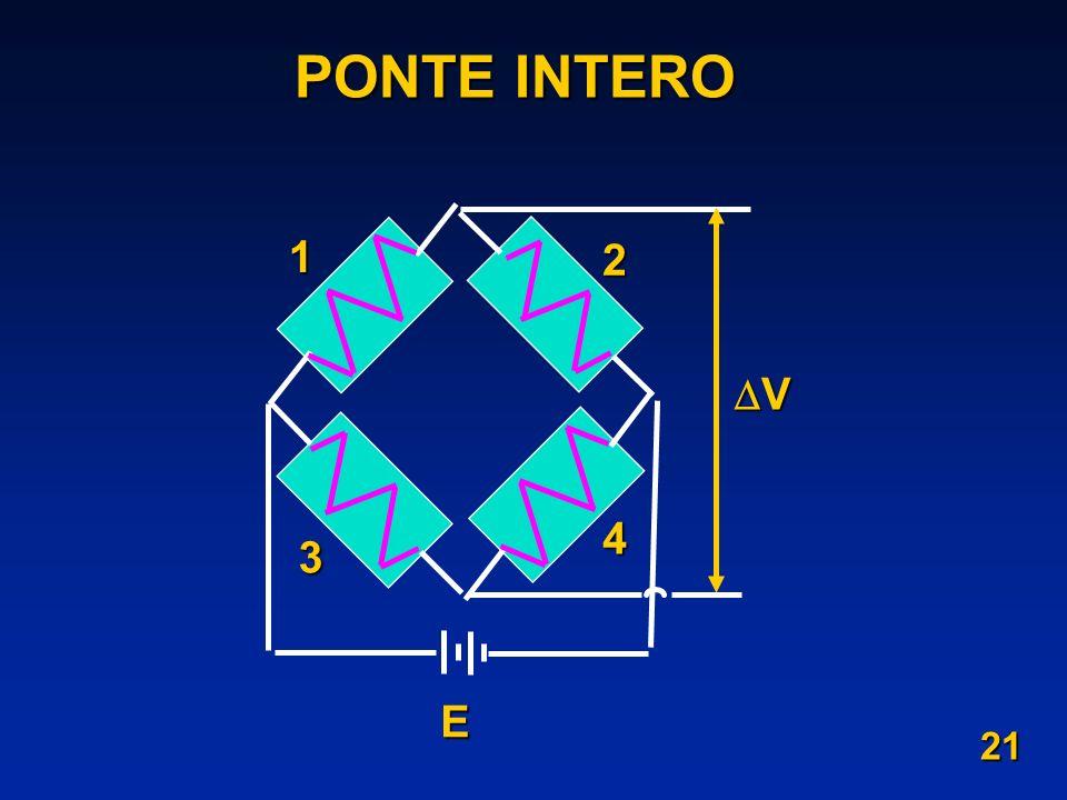 PONTE INTERO 1 2 3 4 E V 21