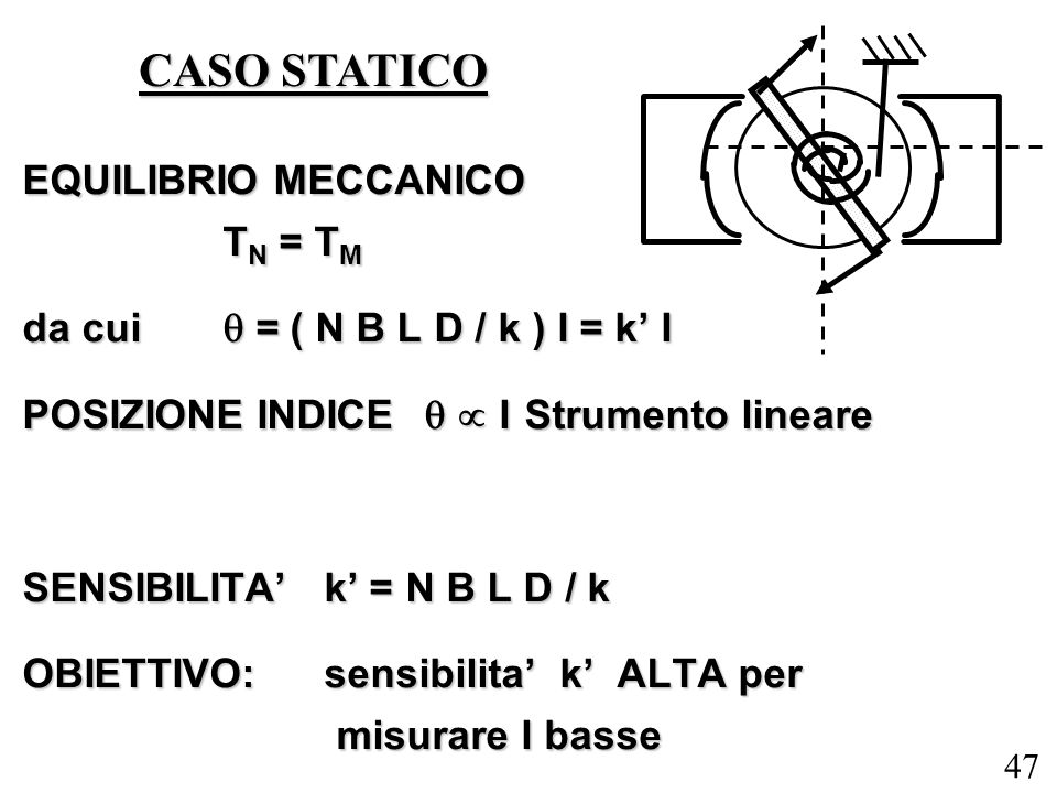 CASO STATICO EQUILIBRIO MECCANICO TN = TM