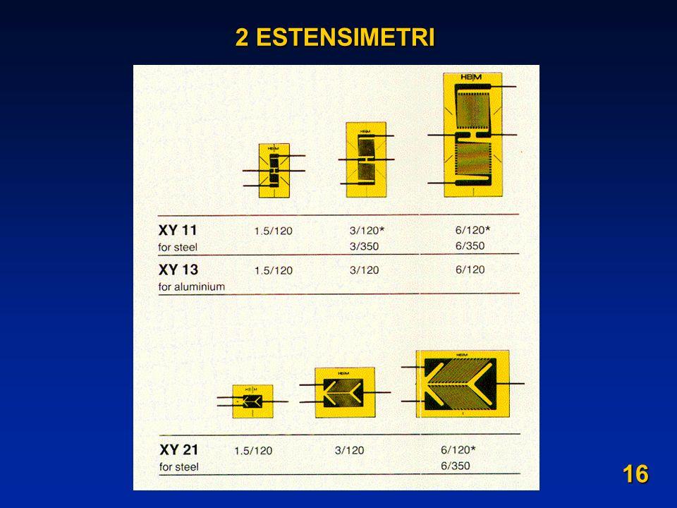 2 ESTENSIMETRI 16
