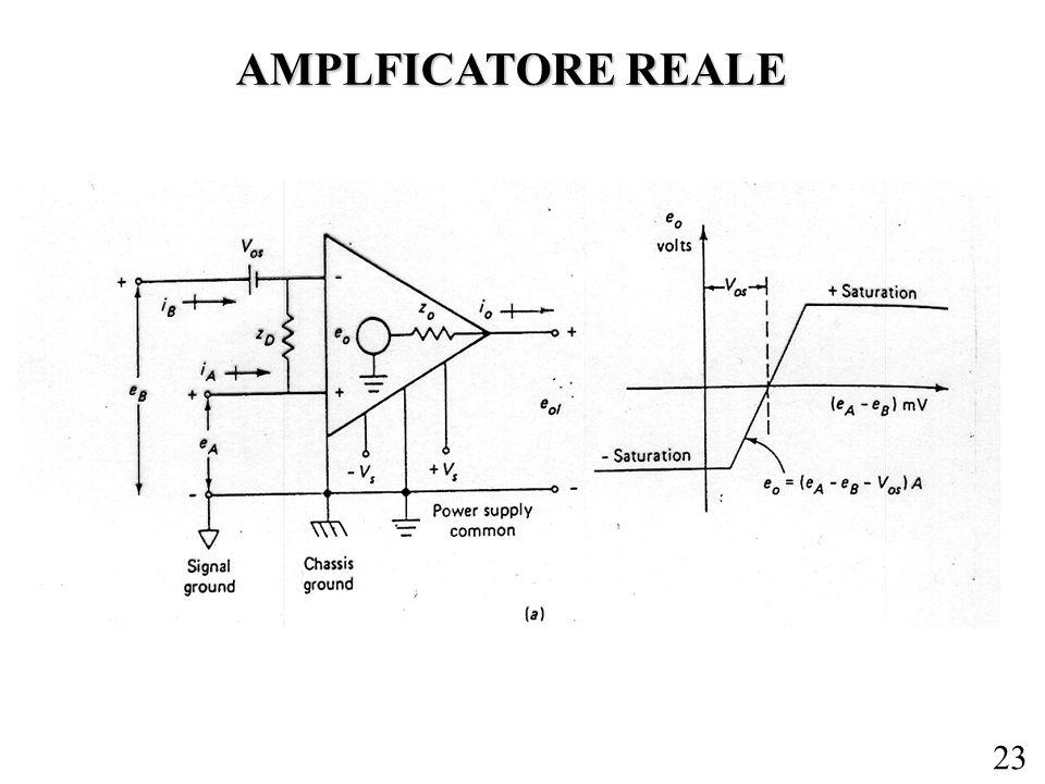AMPLFICATORE REALE