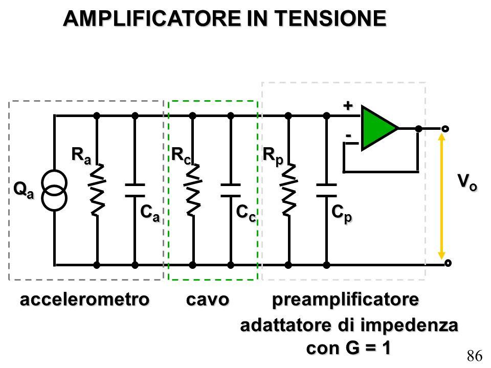 AMPLIFICATORE IN TENSIONE adattatore di impedenza