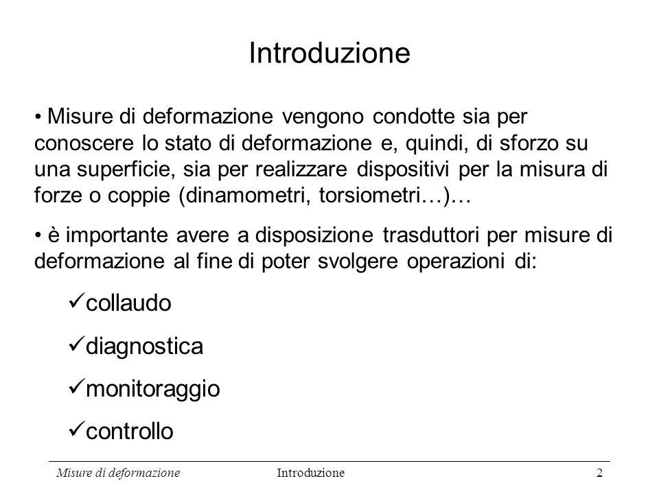 Introduzione collaudo diagnostica monitoraggio controllo