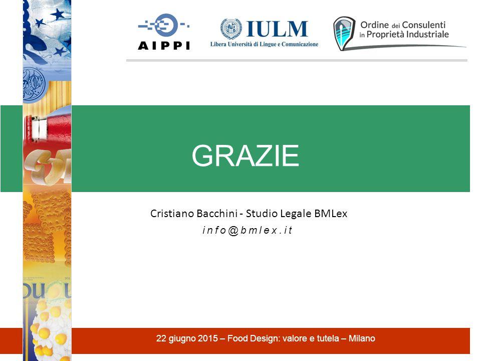 GRAZIE Cristiano Bacchini - Studio Legale BMLex
